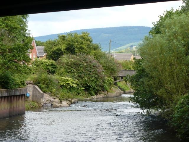 River Ebbw, view upstream