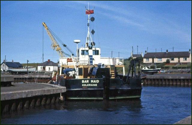 Dredging Ballylumford harbour