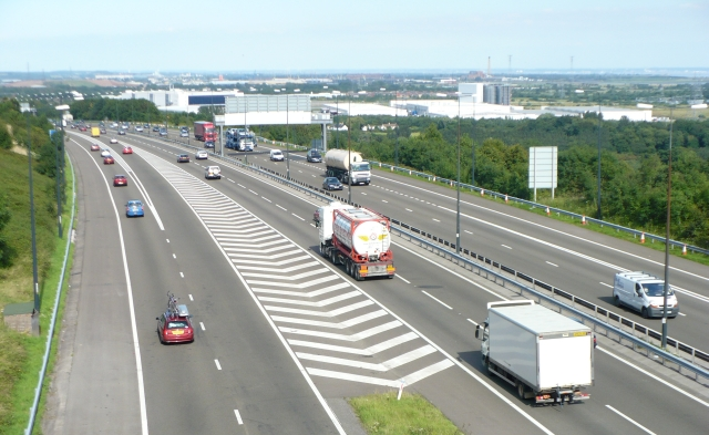 M4 eastbound at junction 29