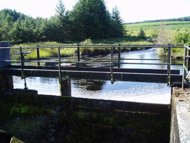 Dam on the Pullaugh Burn.