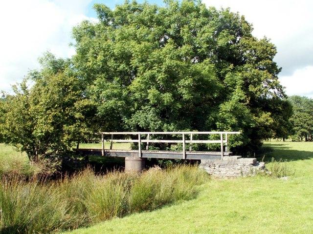 Footbridge over the Afon Teifi