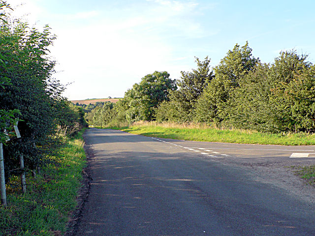 Junction Of Raynard's Lane and the Goulceby - Hemingby Road