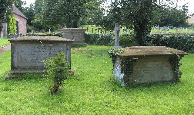 Graveyard at St. Bridget's