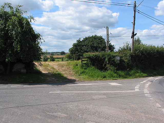 Road junction at Wyelea