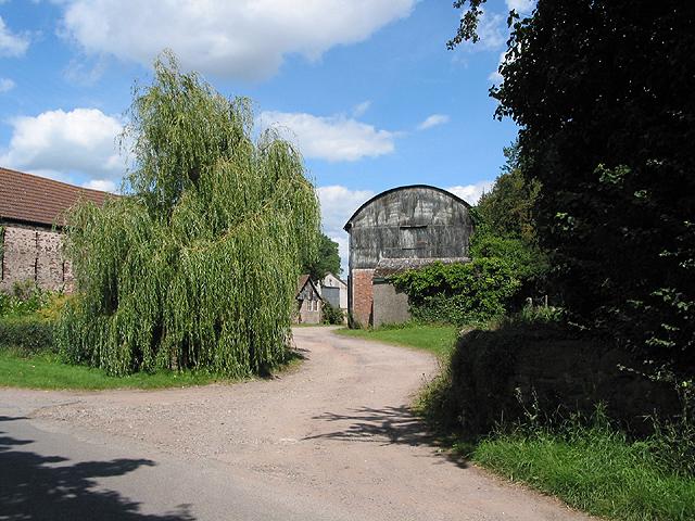 Farm buildings at Wyelea