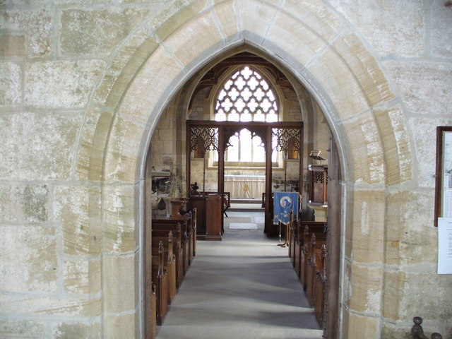Interior of St. Wilfred's Church, Kirkharle