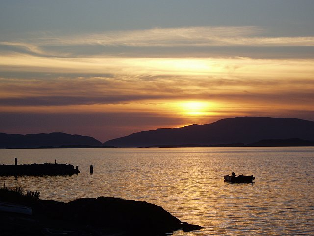 Sunset at Crinan
