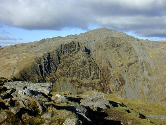 Cadair Idris from the top of Craig Cau