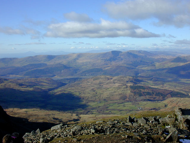 View north from Cadair Idris