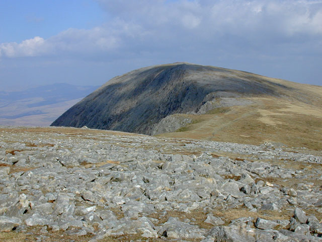 East from the summit of Cadair Idris