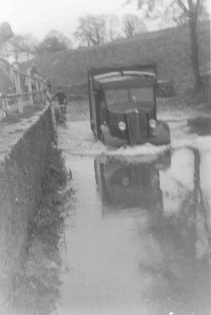 Ford at Brook End, Luckington, in 1960