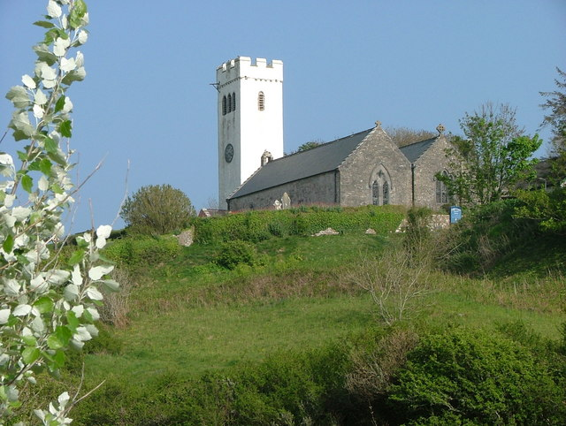 Manorbier Church