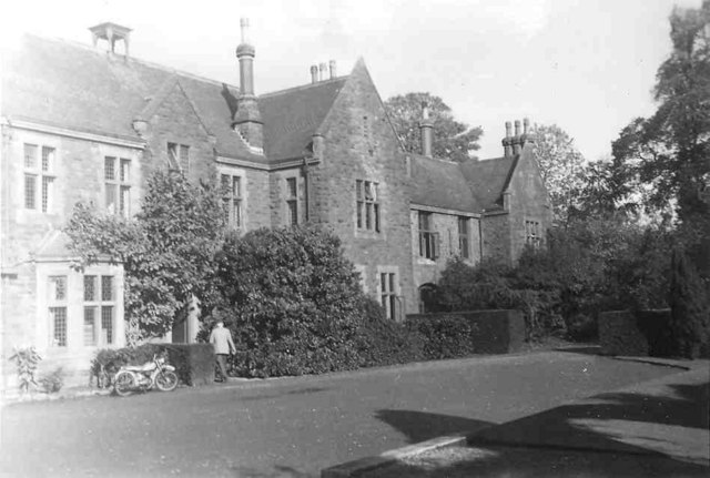 The Holmes, Churchill Hall, Bristol, in 1960