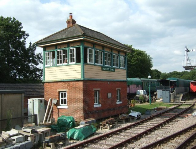 Signal Box at Horsted Keynes Station