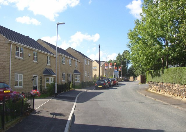 New houses, Snelsins Road, Cleckheaton