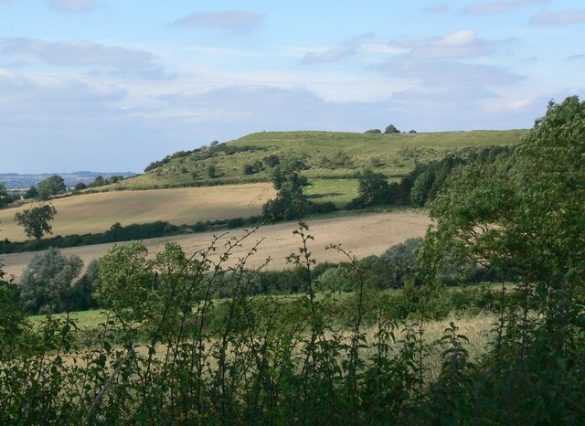 A view of Burrough Hill