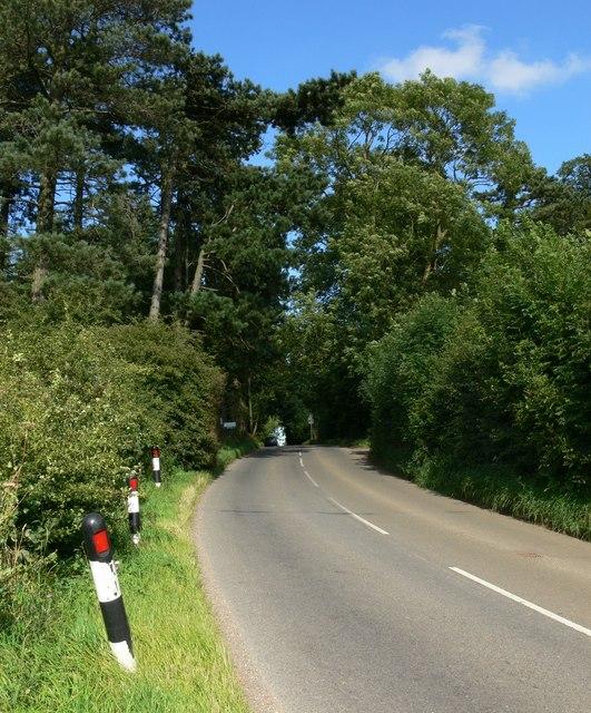 Somerby Road near Burrough Hall