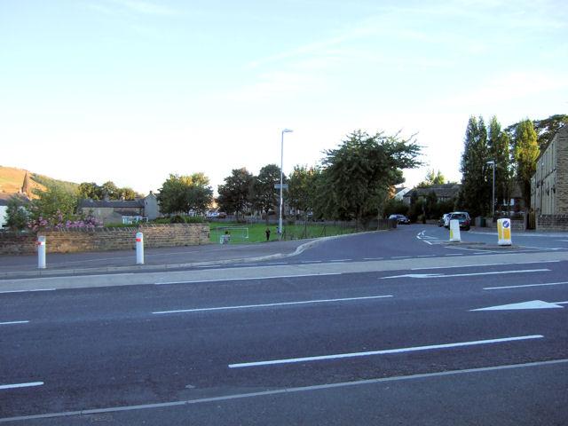 Bradley Road / Oak Road junction
