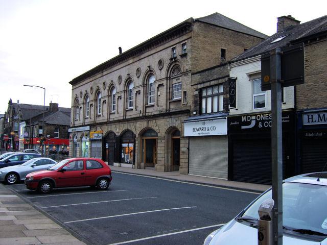 Brighouse - Bradford Road shops