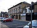 SE1422 : Brighouse - Bradford Road shops by David Ward
