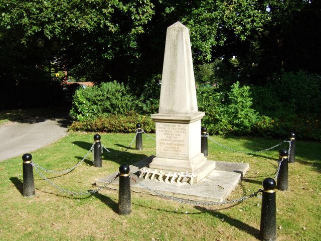 Selby Park, War Memorial