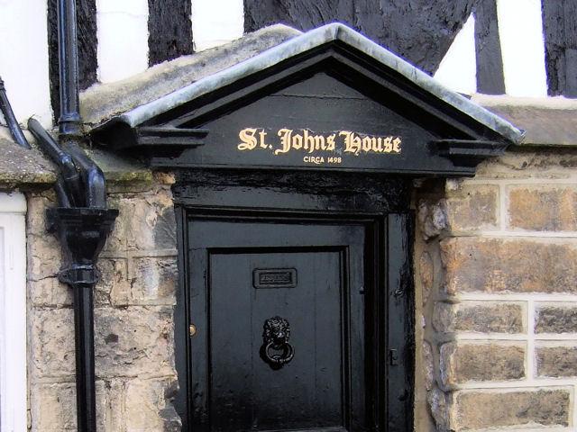 Knaresborough - Church Lane, St John's House