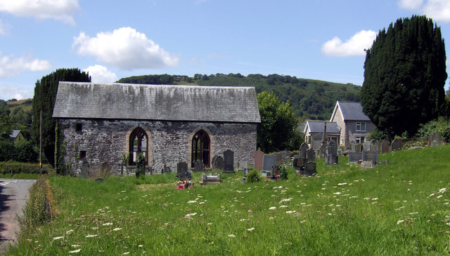Converted chapel at Pentre'r-felin