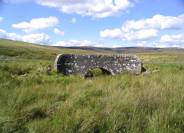 Moorland bridge