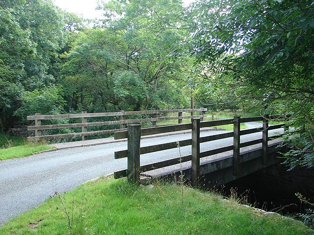 Road bridge over Clegyrnant
