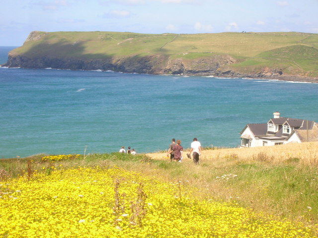 Western Edge of Polzeath