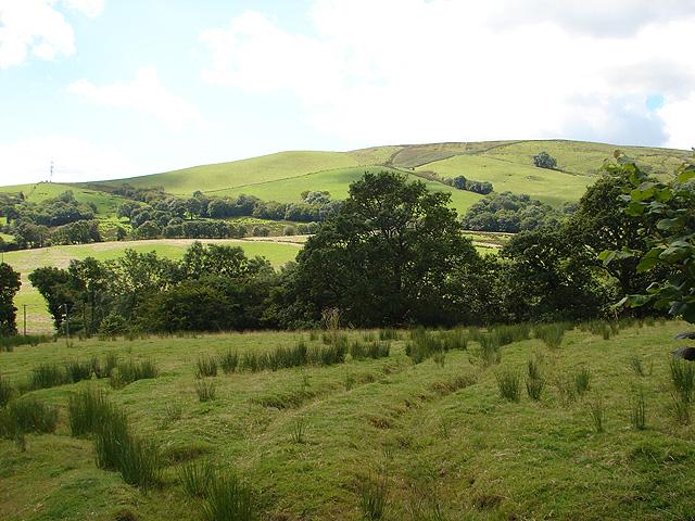 Farmland near Gerddi-gleision