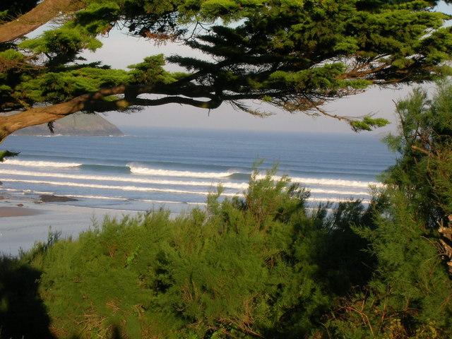 Wave break Polzeath