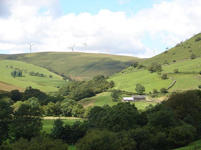 Farmland at Dôl Fawr