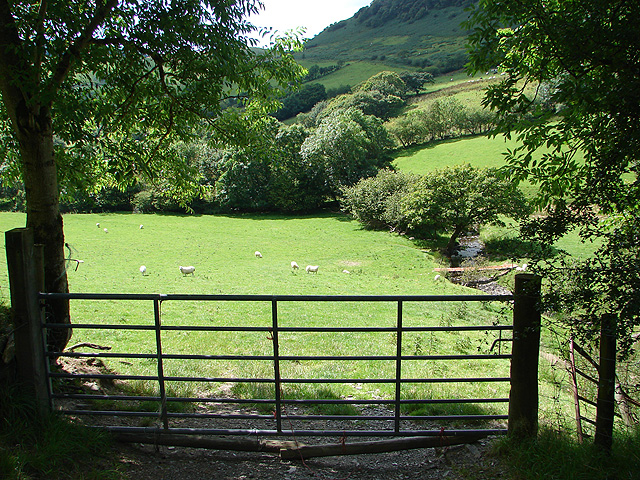 Farmland at Nant-Carfan