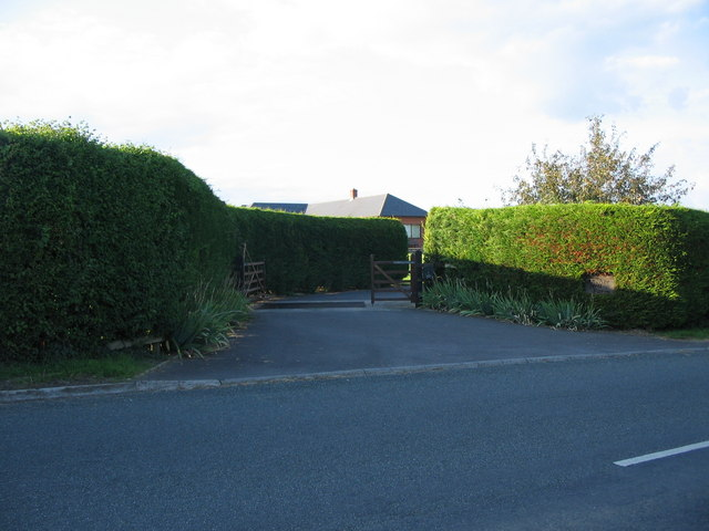Entrance to Anchor Hill Farm