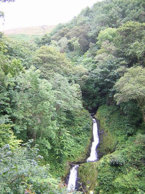 Dolgoch Upper Falls
