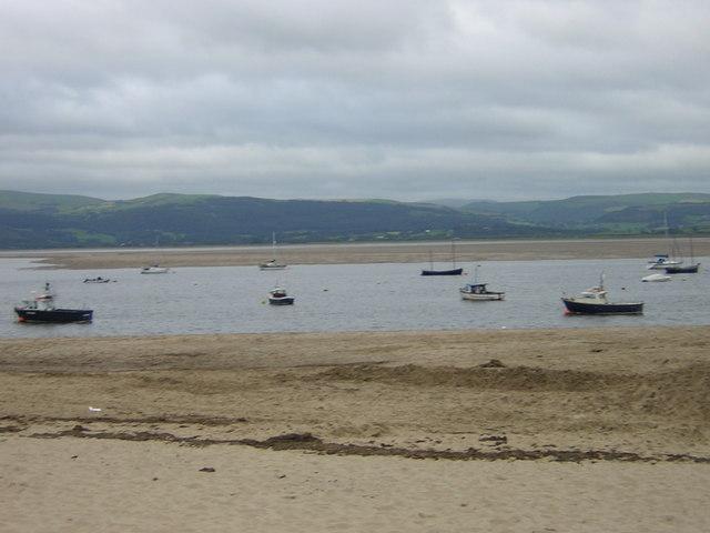 Aberdyfi view over estuary