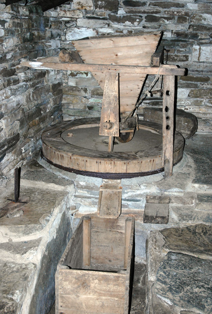 The Click Mill (detail of mill)