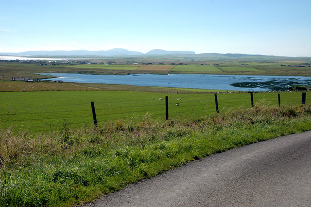 The Loch of Sabiston from near Cloke