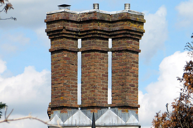 Chimney on Humphreys Lodge