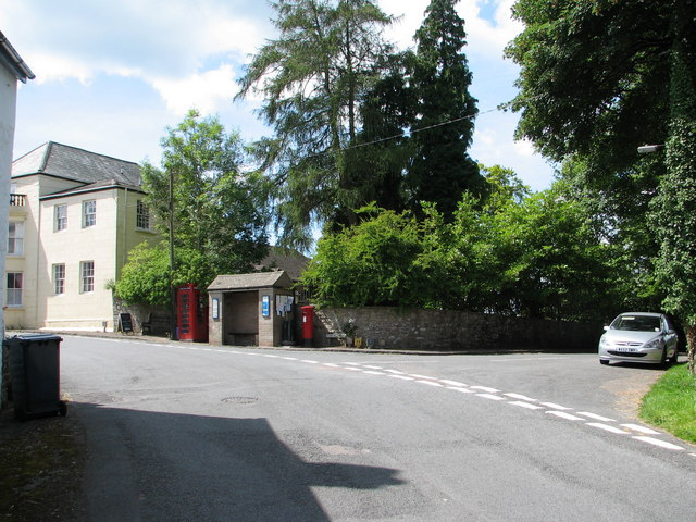 St Briavels - bus shelter