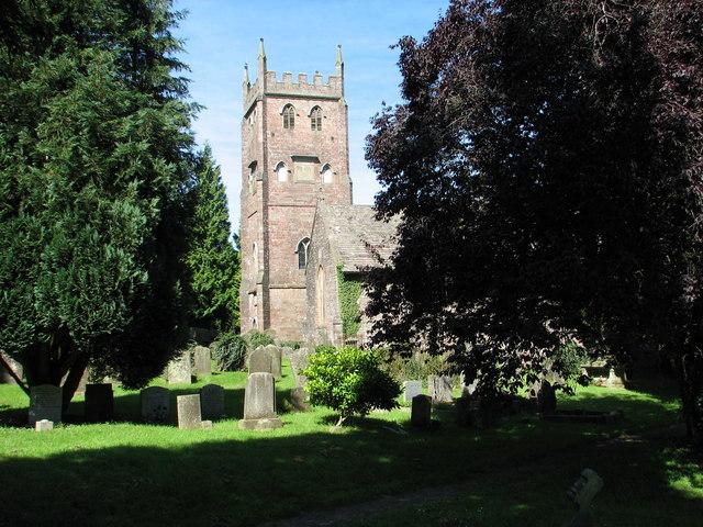 St Briavels church tower