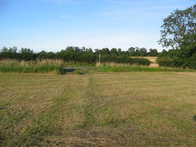 South Cockerington Path Across Field