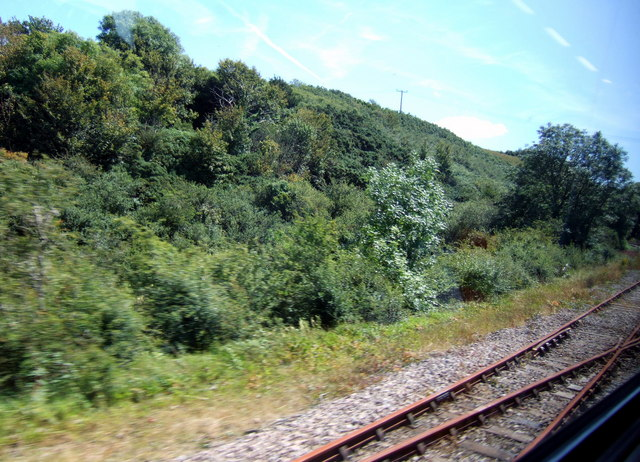 Old branch line to Trecwn