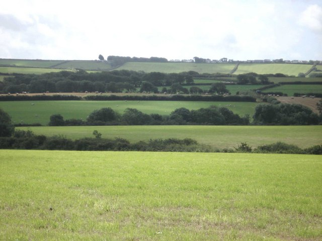 Farmland near Pelcomb Cross