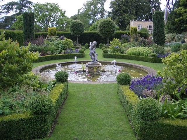 Garden Pool at Hambleton Hall