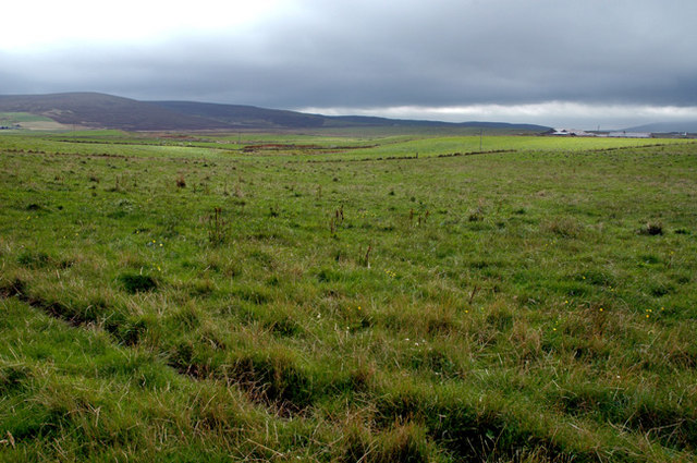 Farmland south of the Lyde road in Harray