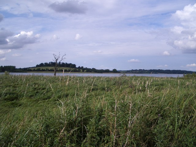 The View Northwards from Waderscrape Bird Hide at Rutland Water