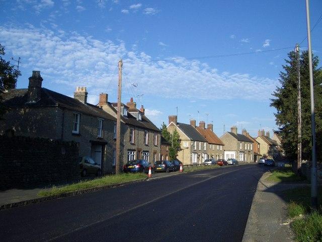 Northampton Road at Lavendon