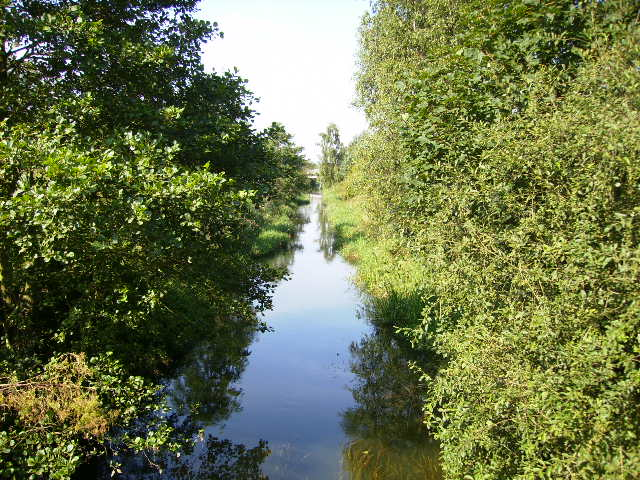 The River Hertford on Willerby Carr